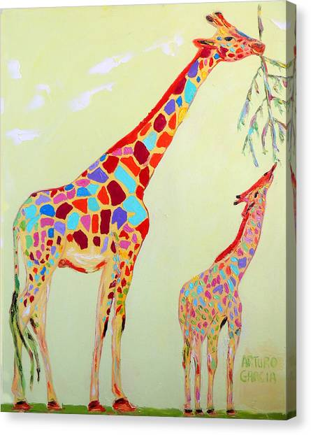 Abstract Giraffe Canvas Prints (Page #10 of 21) | Fine Art America