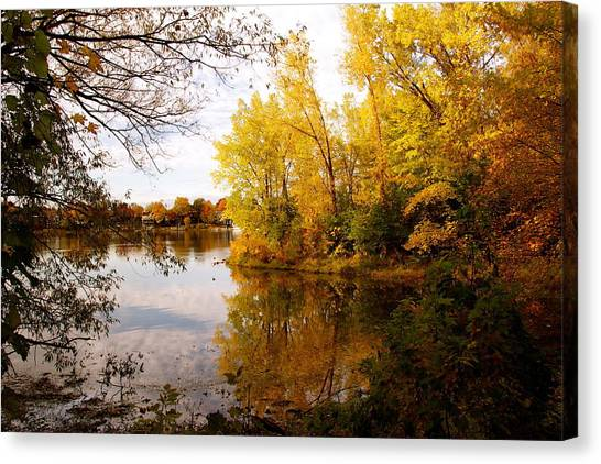A Beautiful Day Canvas Print by Jocelyne Choquette