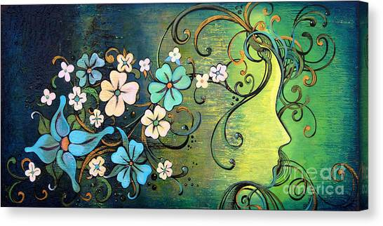 Limes Canvas Print - A Beautiful Mind by Shadia Derbyshire