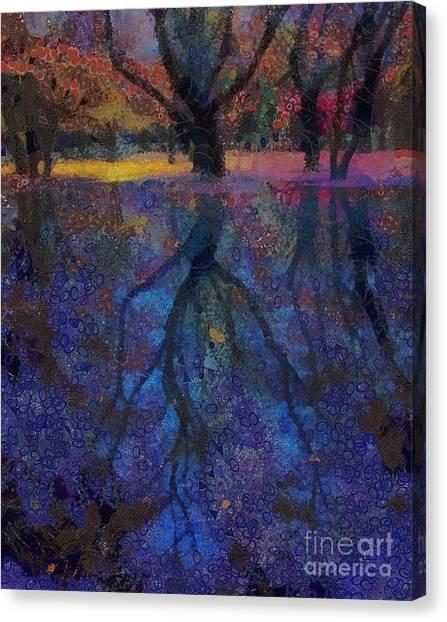 A Beautiful Reflection  Canvas Print