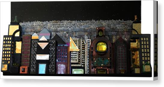 A Block Apart Canvas Print