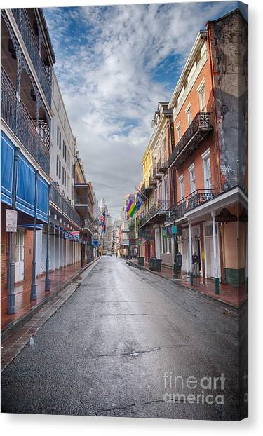 A Bourbon Morning Canvas Print
