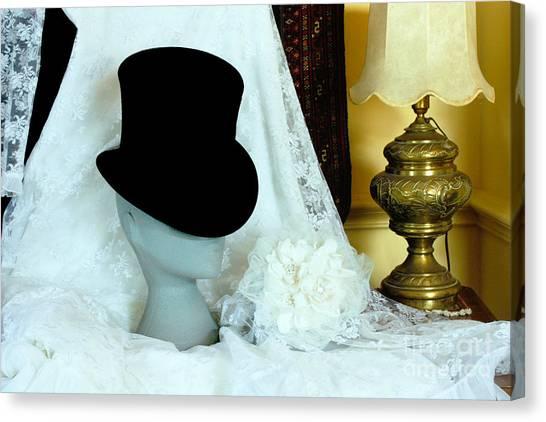A Bridal Scene Canvas Print