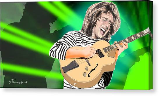 A Bright Size Life Pat Metheny Canvas Print