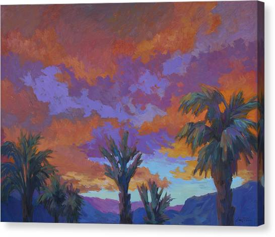 Mirages Canvas Print - A Brilliant Sunrise by Diane McClary