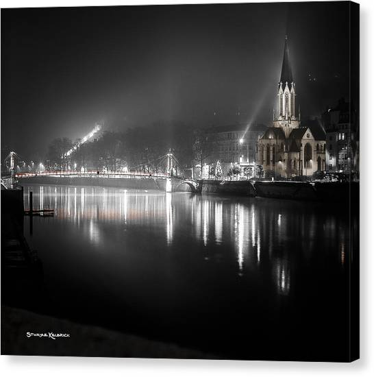 Canvas Print - A Cathedral In The Mist by Stwayne Keubrick