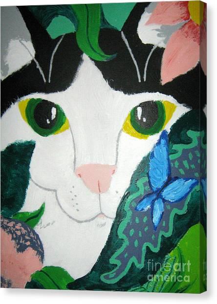 A Cat's Fancy Canvas Print