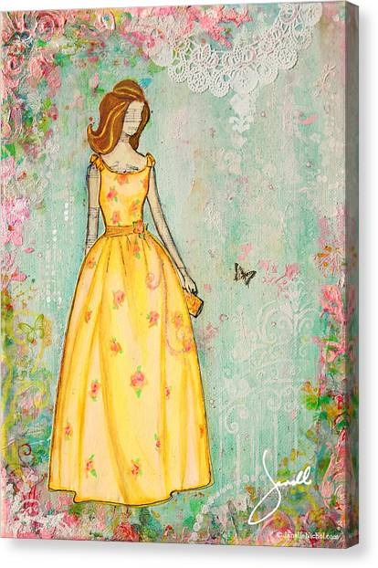 A Charmed Life Canvas Print by Janelle Nichol