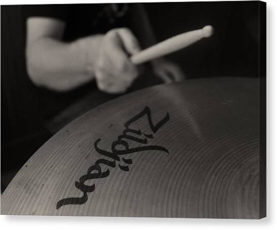 A Cherished National Cymbal Canvas Print