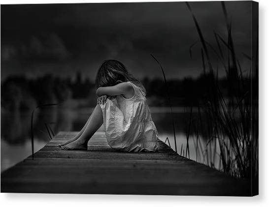 A Childhood Canvas Print by Christoph Hessel