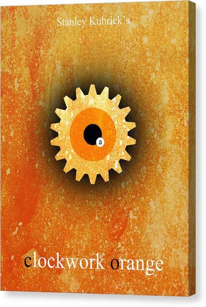 Clockwork Orange Canvas Print - A Clockwork Orange by Filippo B