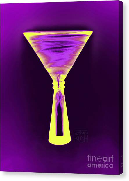 A Complementary Martini Canvas Print