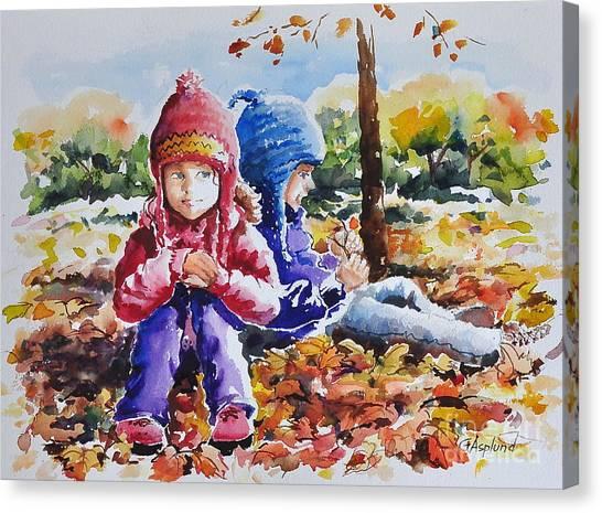 A Crop Of Good Friends Canvas Print
