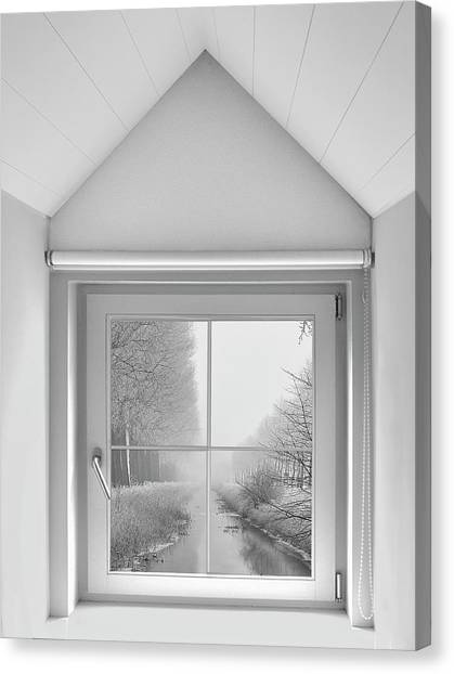 Portal Canvas Print - A Crystal View From My Window ... by Yvette Depaepe