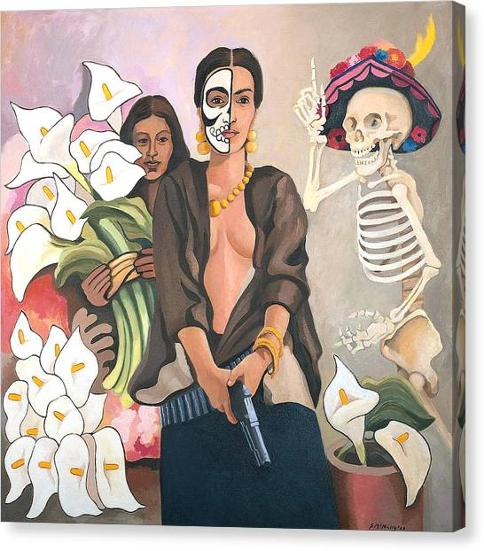 A Dangerous Woman Canvas Print