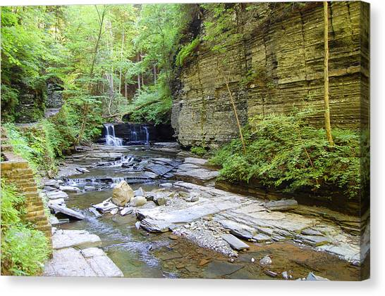 A Day In The Glen Canvas Print