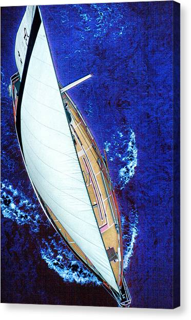 A Day On The Bay Canvas Print
