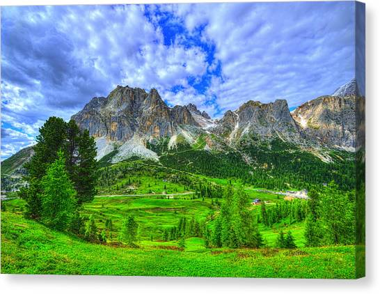 Dolomites Canvas Print - A Different World by Midori Chan
