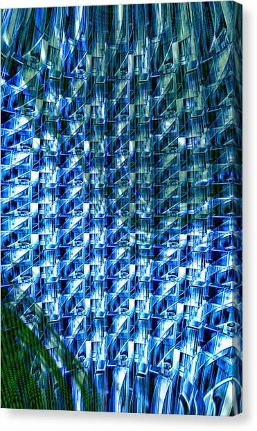 Digital Reflections Canvas Print by Kellice Swaggerty