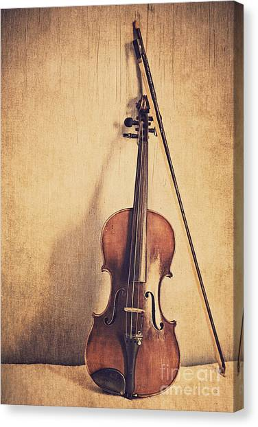 Violins Canvas Print - A Fiddle by Emily Kay
