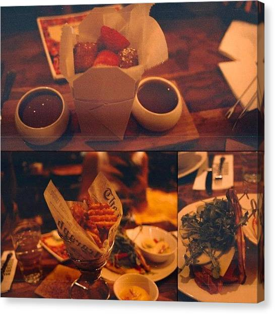 Artichoke Canvas Print - A #filmphotography Dinner.This Meal by Alexandria Walker