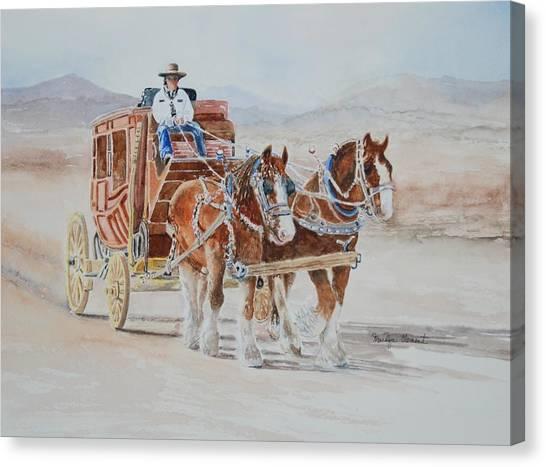 A Fine Ride II Canvas Print