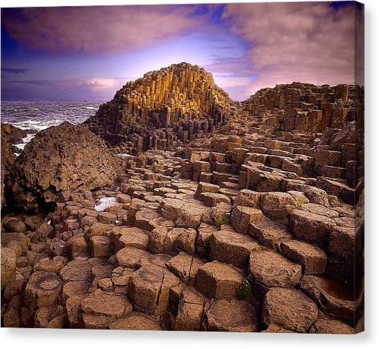 A Giant's Footsteps Canvas Print