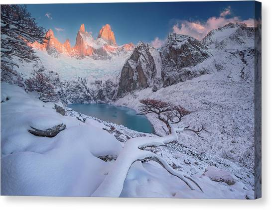 Chilean Canvas Print - A Gift From The Gods by Valeriy Shcherbina