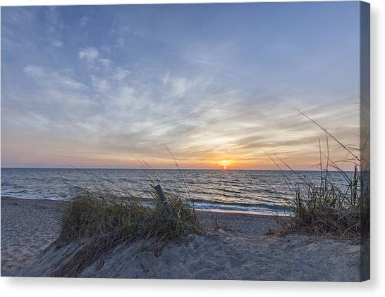 A Glass Of Sunrise Canvas Print
