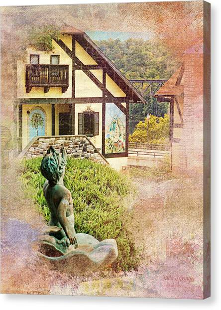 A Glimpse Of Bavaria In West Virginia Canvas Print
