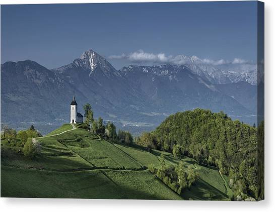 A God's Place Canvas Print