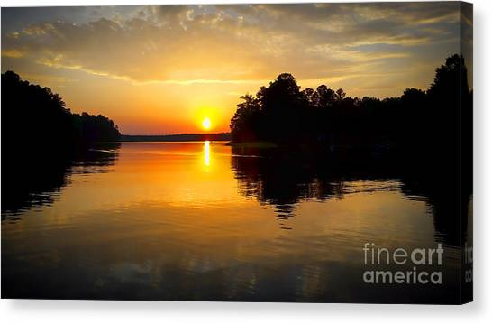 A Golden Moment Canvas Print