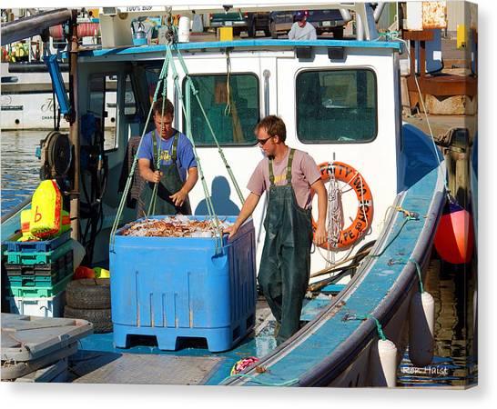 A Good Day Fish'n Canvas Print