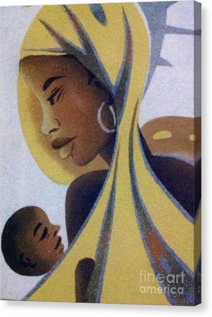 A Good Mother Canvas Print