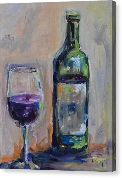 A Good Pour Canvas Print
