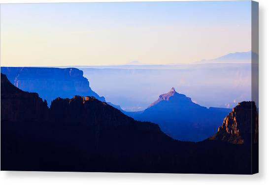 A Grand View Canvas Print
