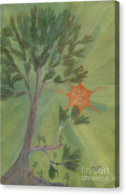A Great Tree Grows Canvas Print by Robert Meszaros