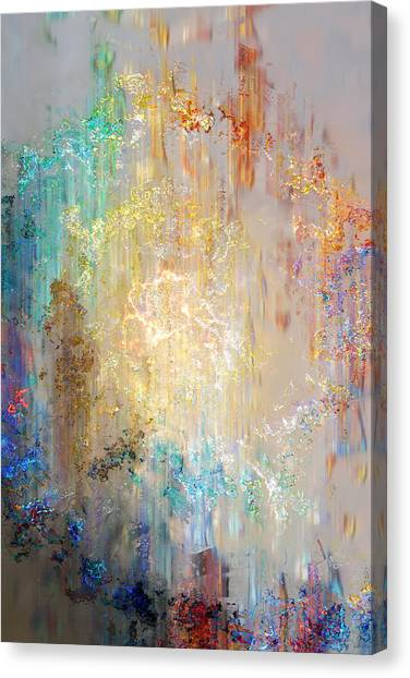 A Heart So Big - Abstract Art Canvas Print