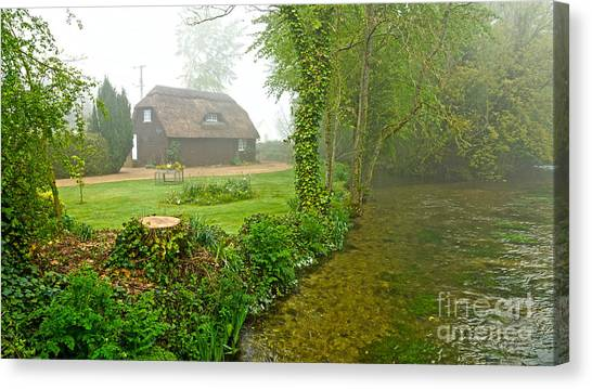 A Home By The River Anton Canvas Print