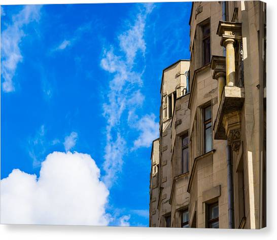 Architectonics Canvas Print - A House With A View - Featured 3 by Alexander Senin