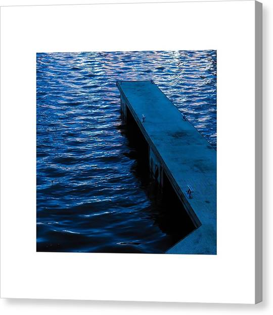A Jetty's Life Canvas Print by Paul Tully