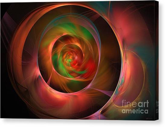 A Kind Of Inner Opalescence Canvas Print