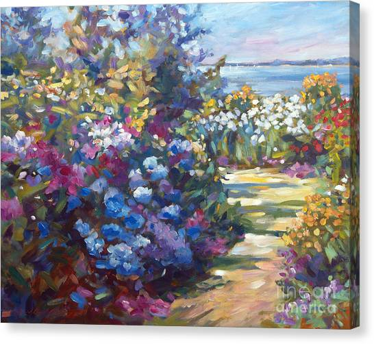 Recommended Canvas Print - A Lazy Summer Day by David Lloyd Glover