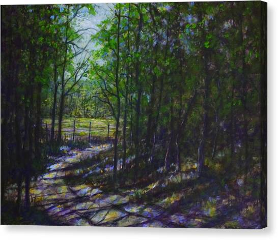 A Lazy Walk Canvas Print by Larry Palmer