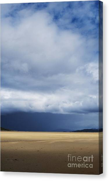 Rainclouds Canvas Print - A Light In Dark Spaces by Tim Gainey