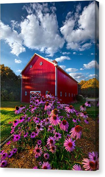 A Little More Country Canvas Print