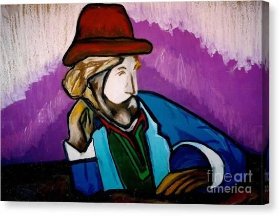 A Local Man Canvas Print