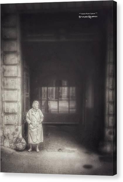 Canvas Print featuring the photograph A Long Boring Wait... by Stwayne Keubrick