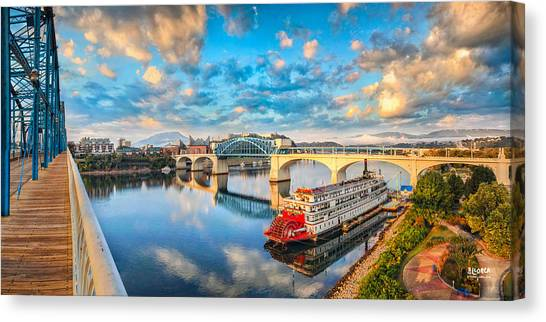 A Morning View Canvas Print