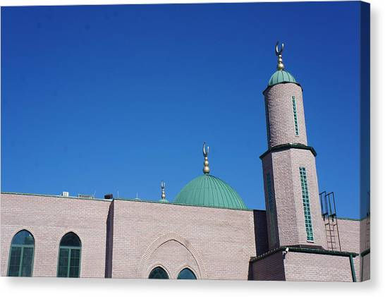A Mosque Canvas Print